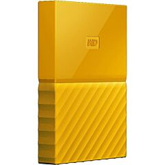 "Western Digital HDD Extern My Passport 2.5"", 1TB, USB 3.0, Yellow"