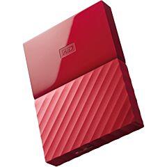 "Western Digital HDD Extern My Passport 2.5"", 1TB, USB 3.0, Red"