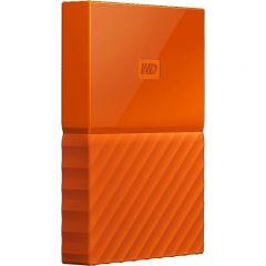 "Western Digital HDD Extern My Passport 2.5"", 1TB, USB 3.0, Orange"