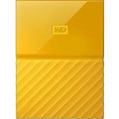 "Western Digital HDD Extern My Passport 2.5"", 3TB, USB 3.0, Yellow"