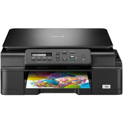 Multifunctional Brother inkjet DCP J105, A4, 27 ppm, Wireless