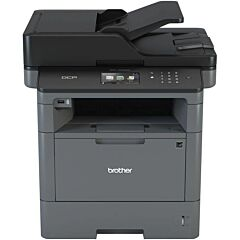 Multifunctional Brother DCP-L5500DN, laser alb/negru, A4, 40 ppm, Duplex, ADF, Retea