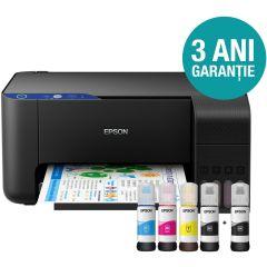 Multifunctionala Epson EcoTank  CISS L3111, inkjet, color, format A4, USB