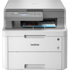 Multifunctionala Brother DCP-L3510CDW, laser, color, format A4, duplex, wireless