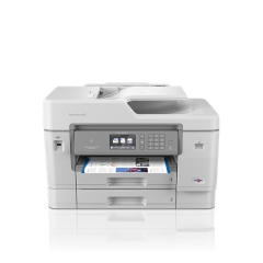 Multifunctionala Brother MFC-J6945DW, inkjet, color, format A3 cu fax, ADF, retea, wireless