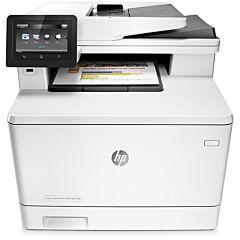 Multifunctional laser color HP LaserJet Pro MFP M477fdn, A4, Fax, 27 ppm, Duplex, ADF, Retea
