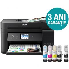 Multifunctionala Epson L6190, Inkjet, CISS, Color, Format A4, Duplex, Retea, Wi-Fi, Fax