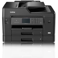 Multifunctional inkjet A3 Brother fax, ADF, retea, wireless