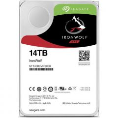 Seagate HDD IronWolf 3.5'' 14TB SATA3 7200RPM 256MB