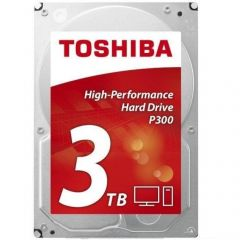 "Toshiba HDD P300, 3.5"", 3TB, SATA3, 7200rpm, 64MB"