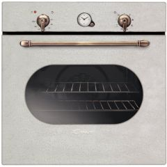 Cuptor incorporabil electric Candy Classic FCC604BA, 8 functii, 65 l, grill, clasa A+, old white