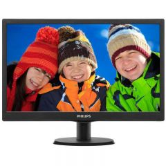 Monitor LED Philips 193V5LSB2/10 18.5 inch 5ms black