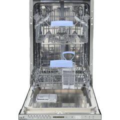 Masina de spalat vase incorporabila Heinner HDW-BI4582TA++, 10 seturi, 8 programe, Clasa A++, Touch Control, Display LED, 45 cm