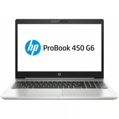 Laptop HP 15.6'' ProBook 450 G6, FHD, Intel Core i5-8265U , 8GB DDR4, 1TB + 256GB SSD, GMA UHD 620, FreeDos, Silver