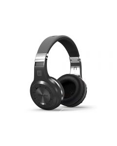 Casti Bluetooth Bluedio H+ Bluetooth 4.1, Wireless, Stereo, microfon incorporat, microSD, FM, Negru