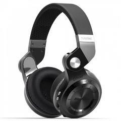 Casti Bluetooth Bluedio T2+ Bluetooth 4.1, Wireless, Stereo, microfon incorporat, microSD, Radio FM, Negru