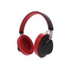 Casti Wireless Bluedio TMS Stereo, Bluetooth, Anularea zgomotului, Microfon, Rosu