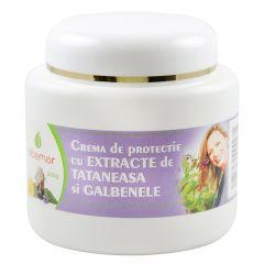Crema de protectie cu extracte de tataneasa si galbenele, 200 grame