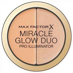 Iluminator si corector compact Max Factor Miracle Glow Duo Pro Illuminator 20 Medium