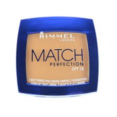 Fond de ten cremos Rimmel Match Perfection Cream Compact Foundation - Bronze