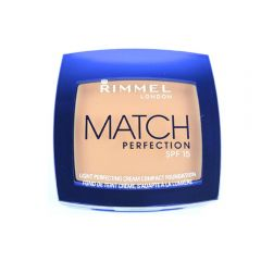 Fond de ten cremos Rimmel Match Perfection Cream Compact Foundation - Light Porcelain