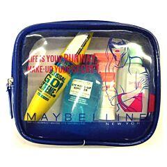 Kit calatorie Maybelline Travel Kit The Colossal Go Extreme Mascara Black Waterproof