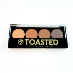 Paleta farduri W7 Toasted Eyeshadow Palettes