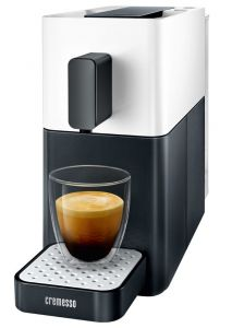 Aparat cafea Cremesso Easy Shell White / Midnight Black