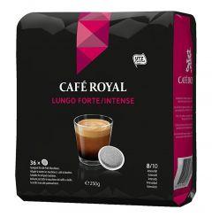 Paduri cafea Cafe Royal Lungo Forte, 36 paduri, 250g