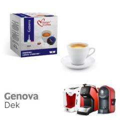 Italian Coffee GENOVA DEK compatibile A Modo Mio, 16 capsule