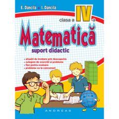 Matematica clasa a IV-a, suport didactic (color)