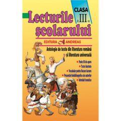 Lecturile scolarului, clasa III (antologie texte literatura romana si univ.)