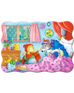 Puzzle Castorland - Little Red Riding Hood, 30 piese