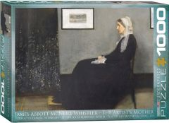 Puzzle Eurographics - James Abbott McNeil Whistler: The Artist's Mother, 1.000 piese (53354)