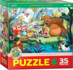 Puzzle Eurographics - Little Red Riding Hood, 35 piese (53323)