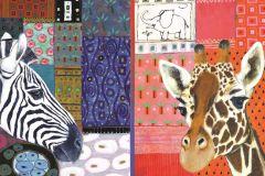 Puzzle Jumbo - Eugen Stross: African Art, 1500 piese (18585)