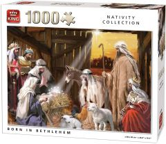 Puzzle King - Born in Bethlehem, 1.000 piese (05726)
