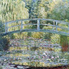 Puzzle din lemn Michele Wilson - Claude Monet: Claude Monet, 30 piese (54285)