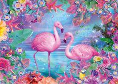 Puzzle Schmidt - Flamingos, 500 piese (58342)