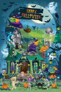Puzzle SunsOut - Legacy Tree: Trick or Treat for All Ages, 625 piese (63993)