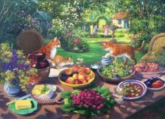 Puzzle The House of Puzzles - Garden Party, 250 piese XXL (56816)