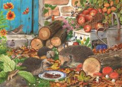 Puzzle The House of Puzzles - Garden Helpers, 1.000 piese (56654)