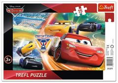 Puzzle Trefl - Cars, 15 piese (64916)