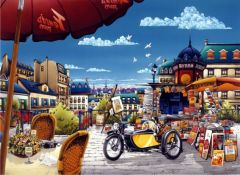 Puzzle Anatolian - The Newspaper Stand, 1000 piese (1003)