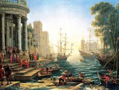 Puzzle Anatolian - Seaport with the Embarkation of St. Ursula, 3000 piese (4902)