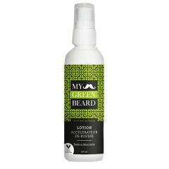 Lotiune pentru accelerarea cresterii barbii si mustatei, Beard Growth Accelerator Lotion , My Green Beard 100ml