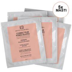 Masti corectoare pentru pori dilatati - Correcteur Pores Dilates Masque Cure, Institut Claude Bell 5x25ml