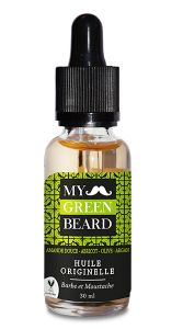 Ulei pentru barba si mustata, Originelle Beard Oil, My Green Beard 30ml