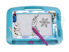Tablita magnetica Frozen Lena pentru desenat, cu creion inclus, 22 cm
