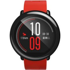 Ceas smartwatch Xiaomi Mi Amazfit Pace, Rosu